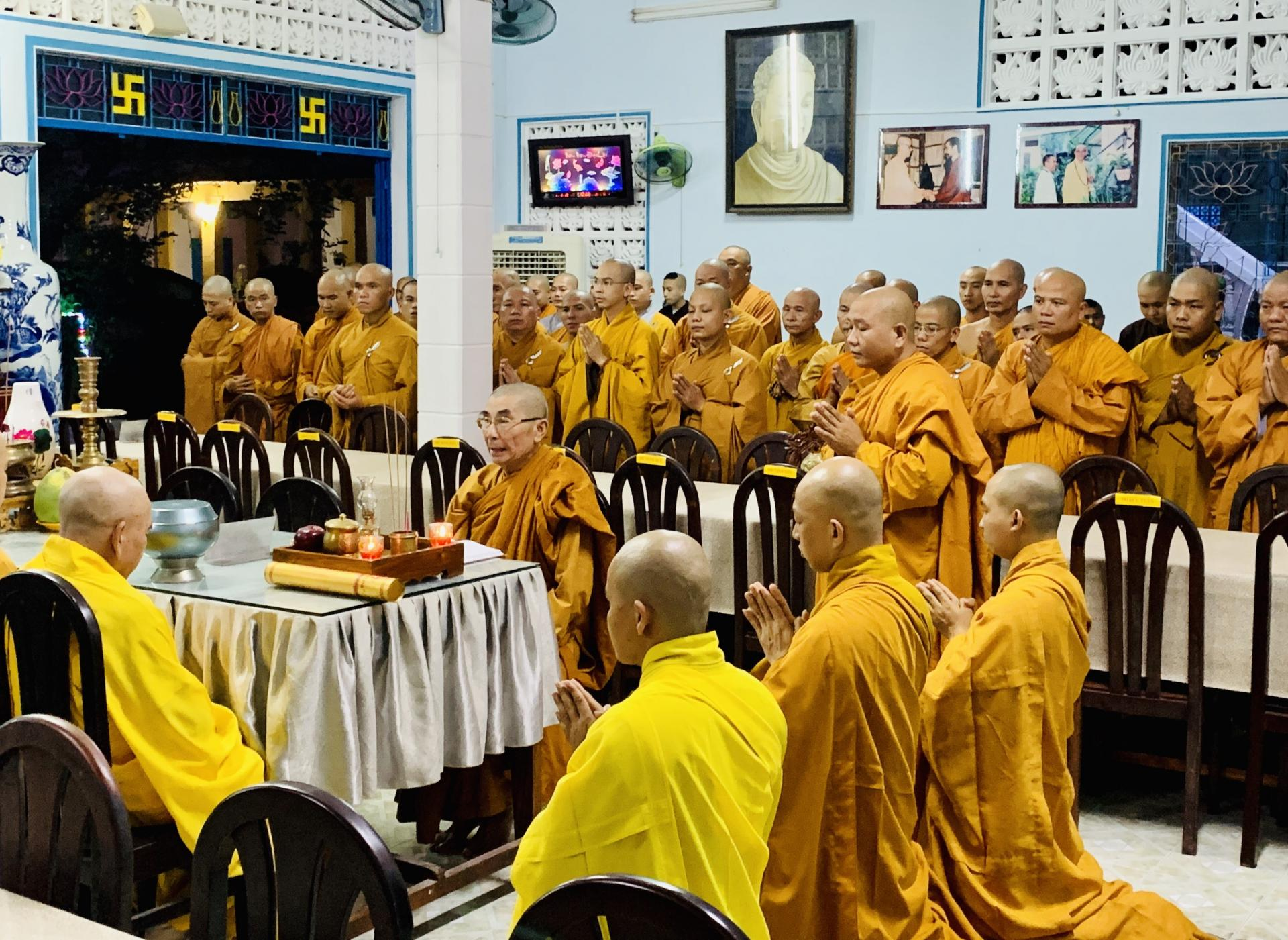 Lễ Đối Thú An Cư kiết hạ Phật lịch 2564 tại Tổ Đình Quan Âm Tu Viện