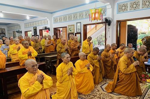 Lễ Tri ân nhân ngày lễ hiến chương nhà giáo Việt Nam tại Tổ đình Quan Âm tu viện.