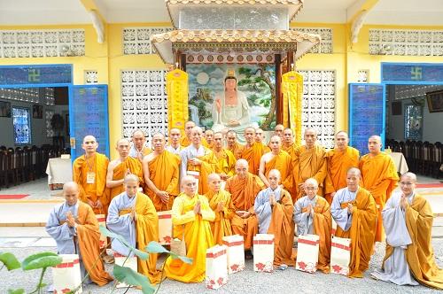 Tân Tỳ Kheo, Tỳ kheo ni lễ Tổ tại Tổ Đình Quan Âm Tu Viện