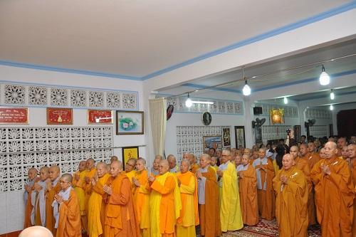 Lễ Chúc Tết Mừng Khánh Thọ Đức Thầy Tông Trưởng Liên Tông Tịnh Độ Non Bồng