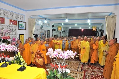 lễ Kỷ niệm ngày Đức Thầy xuất gia và Họp mặt truyền thống Môn Phong Liên Tông Tịnh Độ Non Bồng ngày 09/01/Canh Tý (2020)