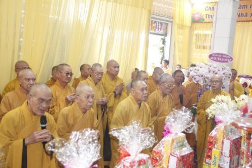 Trung Ương Giáo Hội Phật Giáo Việt Nam, Ban Thường Trực Hội Đồng Trị Sự, Các Ban Viện Trung Ương, Học Viện Phật giáo Việt Nam Viếng lễ tang Ni Trưởng Thích Nữ Huệ Giác (ngày 23/01/2021)