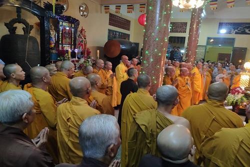 """Lễ Mãn Khóa Niệm Phật """" Bá Nhật Trì Danh, Cầu Sanh Tịnh Độ"""" Lần Thứ 54 Tại Nhất Nguyên Bửu Tự"""