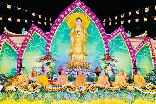 Lễ kỷ niệm Khánh Đản Đức Phật A Di Đà tại chùa Long Phước Thọ