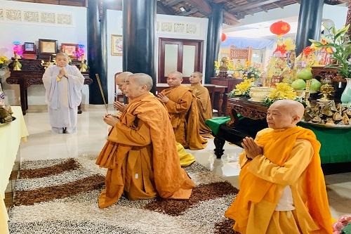 Lễ Tưởng Niệm Húy kỵ lần thứ 24 của cố HT. Thích Huệ Tâm – nguyên trụ trì chùa Long Sơn